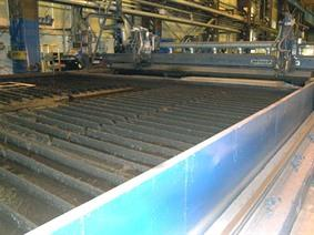 Messer Griesheim (Oxy+plasma) 35600 x 7500 mm CNC, Gas cuttingmachines (gas + plasma)