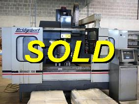 Bridgeport Interact 720 X:760 - Y:400 - Z:450mm, Vertical machining centers
