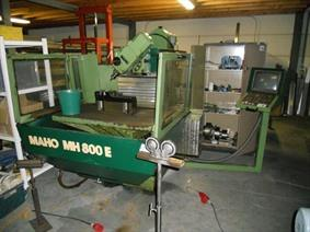Maho MH 800E  X:800 - Y:450 - Z:500 mm, Universele freesmachines conventioneel & CNC