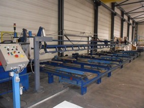 Decoiler + Roll forming Line for Steeldeck type 106, Производственные линии