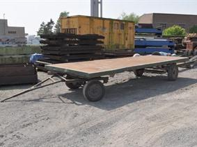 ZM Loading cart 8 ton, Transportmitteln (reinigung - Hubstapler etc)