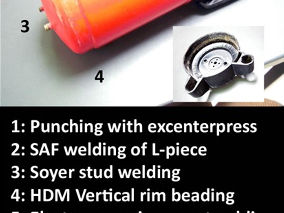 Soyer, Pin welding