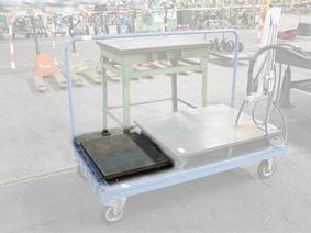 Cast iron surface plate 600 x 500 mm, Vlakplaten & Meettafels