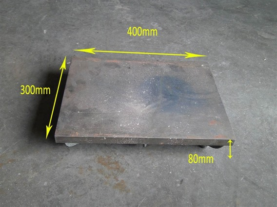 Cast iron surface plates,