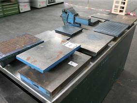 Cast iron surface plates , Vlakplaten & Meettafels
