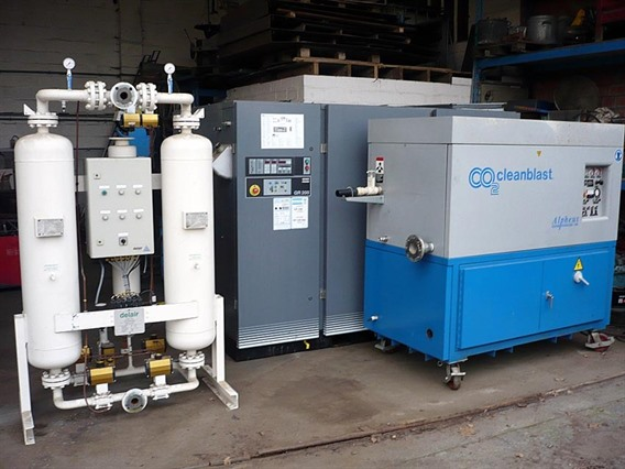 Alpheus Cleanblast Dry Ice Pellet Blasting - 290, Surface treatment machines