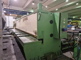 LVD MVS 8050 x 6/4 mm CNC, Hydraulic guillotine shears