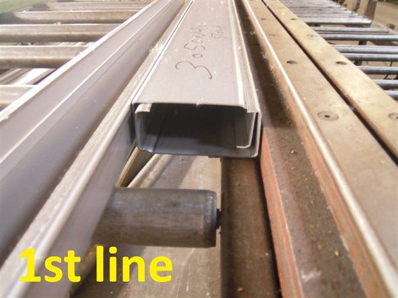 Rollsec rollforming, for horizontal supports