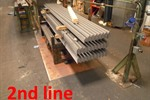 Colombo Profiling line, for making perforated vertical corner profiles