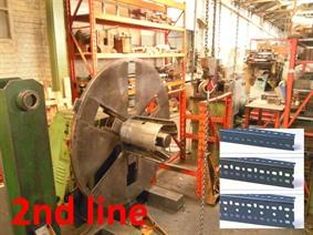 Colombo Profiling line for making perforated vertical corner profiles, Производственные линии