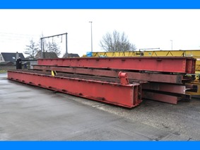 Runways various lengths, Conveyors, Overhead Travelling Crane, Jig Cranes
