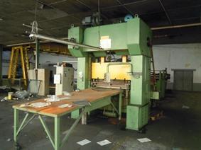 Schalck 250 T + decoiler/slitting/feeder/cut to length, Dubbelkolom Excenterpersen