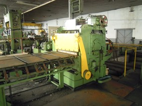 Cornillon Shearing line nr1, Decoiler & cut to length line