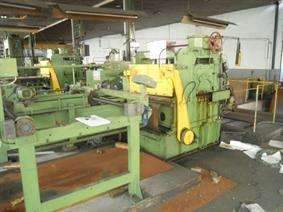 Cornillon Shearing line nr2, Decoiler & cut to length line