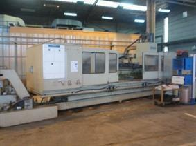 Bluthardt BZ 20-CNC, Bed milling machine with moving column & CNC