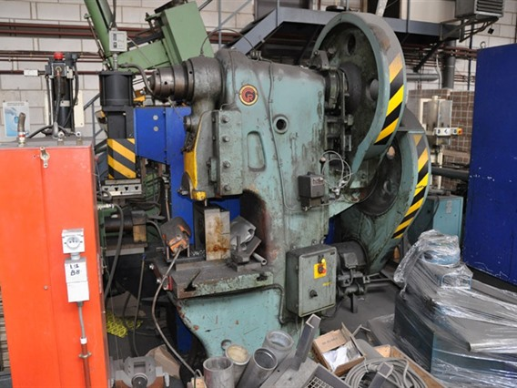 ZM 100 ton, Open gap eccentric presses