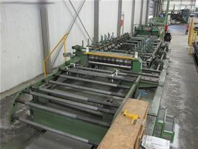 Van Otterloo automatic profiling line , Decoiling + / or Roll forminglines