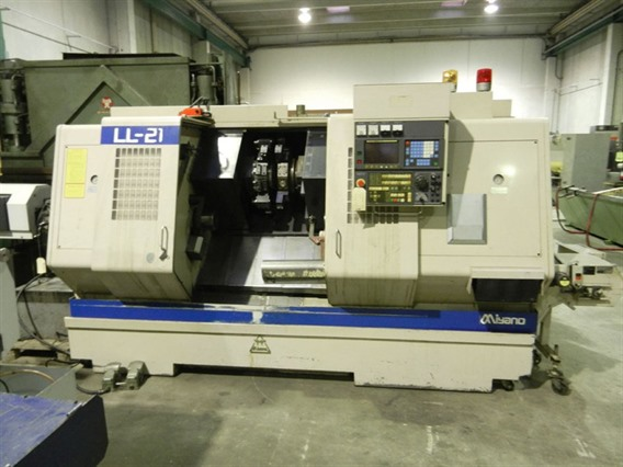 Citizen Miyano LL-21 twin spindle - twin turret, CNC lathes