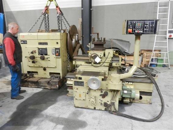 WMW DP1/S2 Ø 2000 mm, Centre lathes
