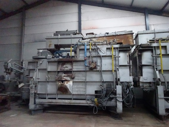 2 Sofind Industrial Ovens, for alu, non-ferro, scrap metals