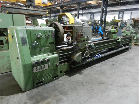 Sculfort Maxicap 400 Ø 840 x 5000 mm, Centre lathes