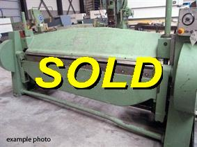 Fasti Type 212/10 2540 x 5mm, Hydraulic & Mechanical  folding presses