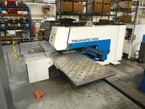 Trumpf Trumatic 500R, Stamping & punching press thin metalsheet