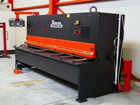Amada Promecam GPN 4100 x 8 mm CNC, Hydraulic guillotine shears