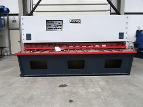 Darley GS 3100 x 16 mm CNC, Hydraulic guillotine shears