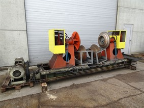 Lisse decoiler + cut to length 2000 x 4 mm, Coiler straightening machines
