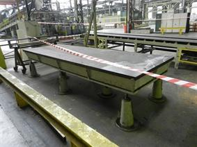 ZM 4000 x 1300 x 500 mm, Tables & Floorplates