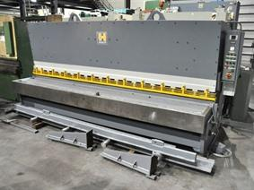Haco 4050 x 16 mm, Hydraulic guillotine shears