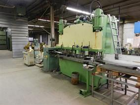 Dimeco decoil./ straight/ feeder LVD punchpress, Presses a col de cygne