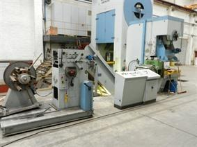 Adam Richter pressline decoiling / straightener / pressing, Coiler straightening machines