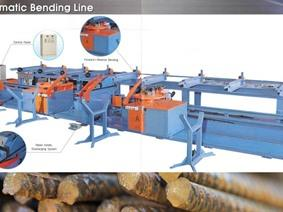 Tae Yeon TAB-HD42D auto bending line for rebar, Hor+Vert profilemachines, section bending rolls & seam makingmachines