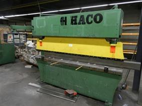 Haco PPES 60 ton x 2600 mm CNC, Hydraulic press brakes