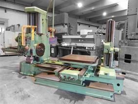 Tos W100A X: 1600 - Y: 1250 - Z: 1150 mm, Table type borers