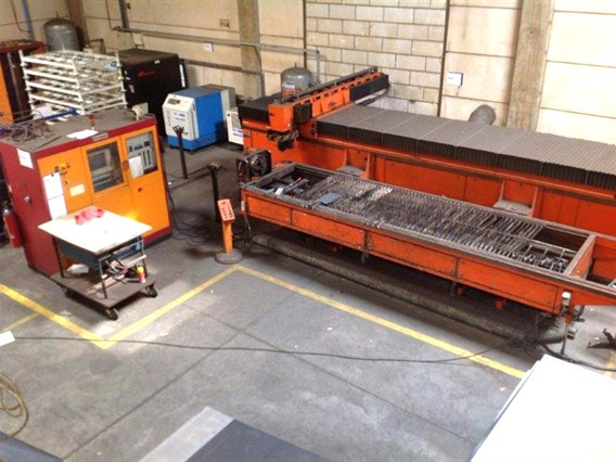 Bystronic Byflex CNC (tube/plate) 1000 x 4000 mm, Laser cutting machines