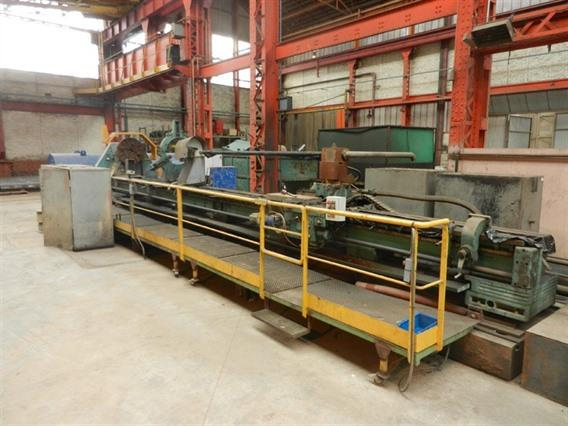 Sculfort Ø 1500 x 10000 mm, Centre lathes