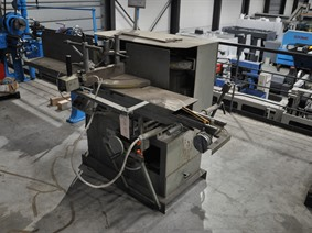 Schüco notching saw, Scieuses circulaires a froid, tronconneuses a meule