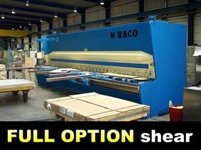 Haco PSX 6200 x 6 mm CNC, Hydraulic guillotine shears