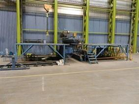 SAF welding derrick Exinter 32 + Starmatic 800TH, Turning gears - Positioners - Welding dericks & -pinchtables
