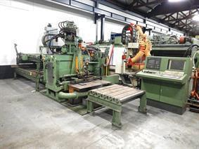 Peddinghaus FDB 1000/3 drilling & cutting system, Bohr- und saghestrasse