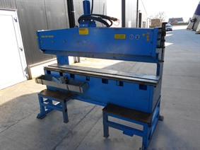 Weber HPB 16 ton x 2000 mm, Stamping & punching press thin metalsheet