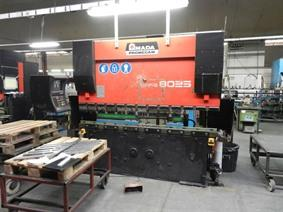 Amada Promecam HFBO 80 ton x 2500 mm CNC, Hydraulic press brakes