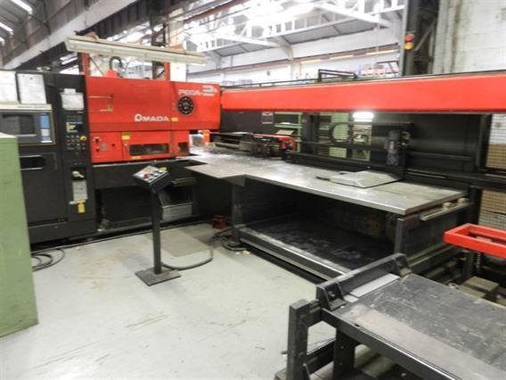 Amada Pega 244 2000 x 1000 mm, Stamping & punching press thin metalsheet