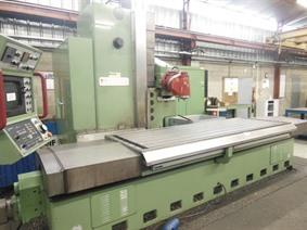 Novar KBF X: 2500 - Y: 1000 - Z: 1400mm, Bed milling machines with moving table & CNC