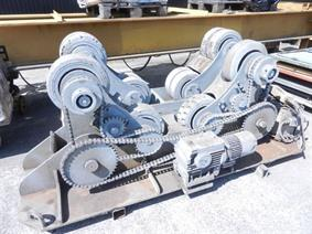 Bode 30 ton, Turning gears - Positioners - Welding dericks & -pinchtables