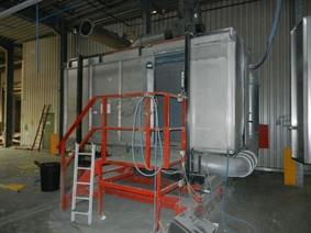 Eisenmann manual powdercoat unit, Powdercoating installation