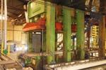Becker panel press, 650 ton